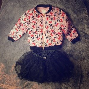 Minnie Mouse Jacket And Skirt Set